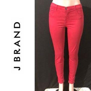NWOT J BRAND Mid Rise Ankle Crop Skinny Jeans